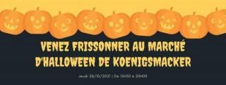Marché d'halloween